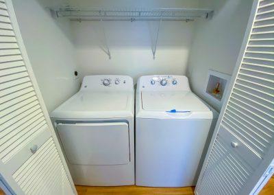 Mango Cove Interior Washing Machine and Dryer